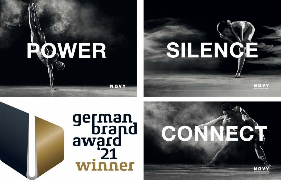 Der German Brand Award in Gold geht an Novy.