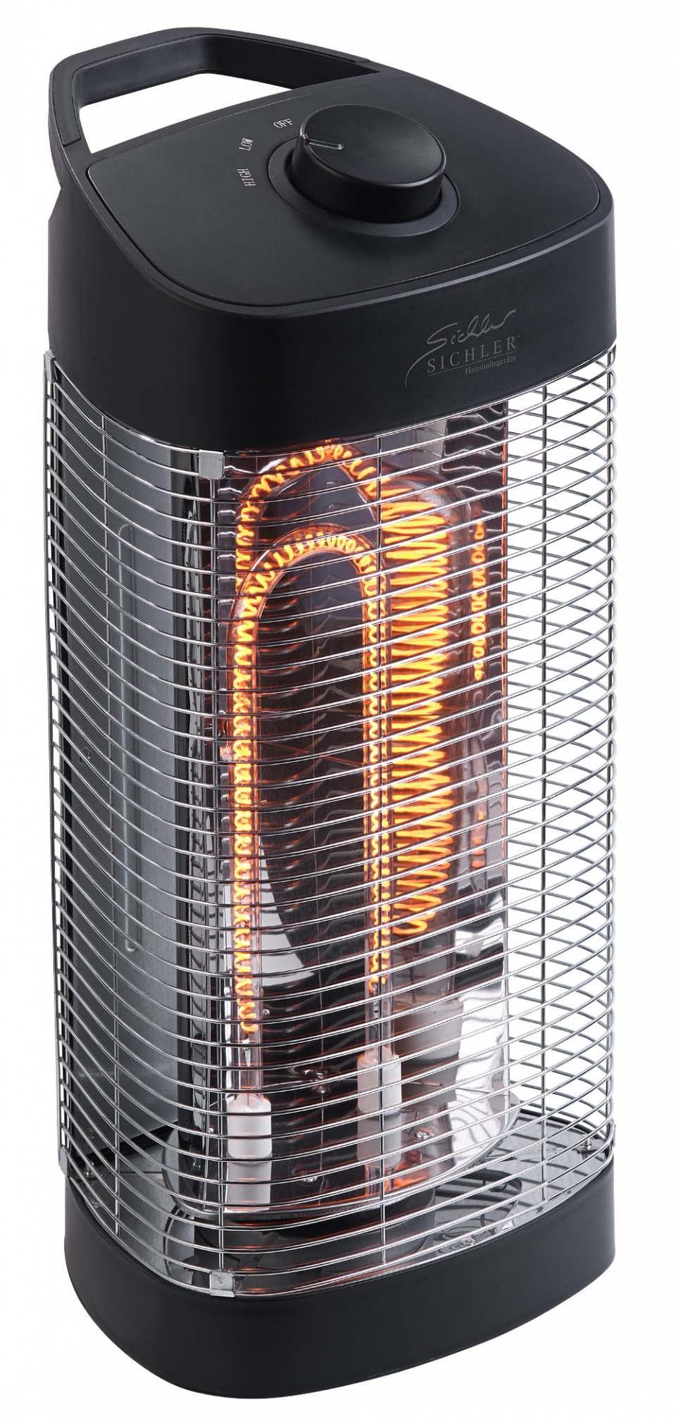 Sichler IR-Heizstrahler IRW-1300.rbl mit energiesparenden Heizröhren.