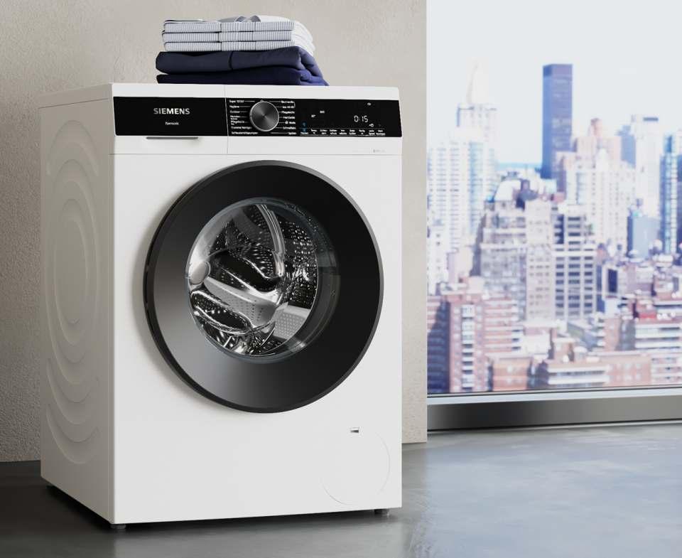 Siemens Waschmaschine IQ 500 mit varioSpeed.