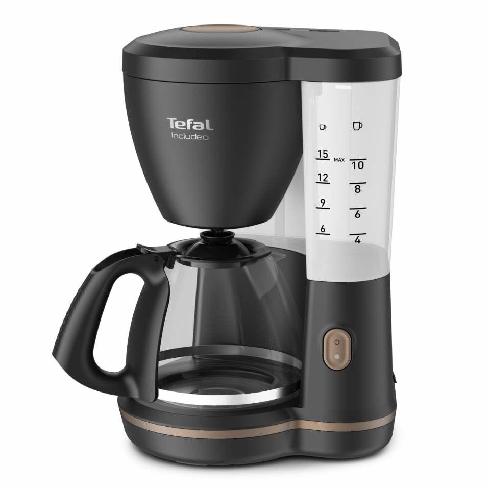 Tefal Filterkaffeemaschine Includeo mit mit One Push Button.