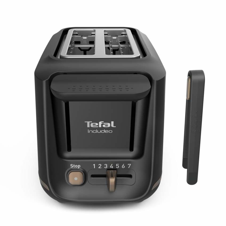 Tefal Toaster Includeo mit 7 Bräunungsstufen.
