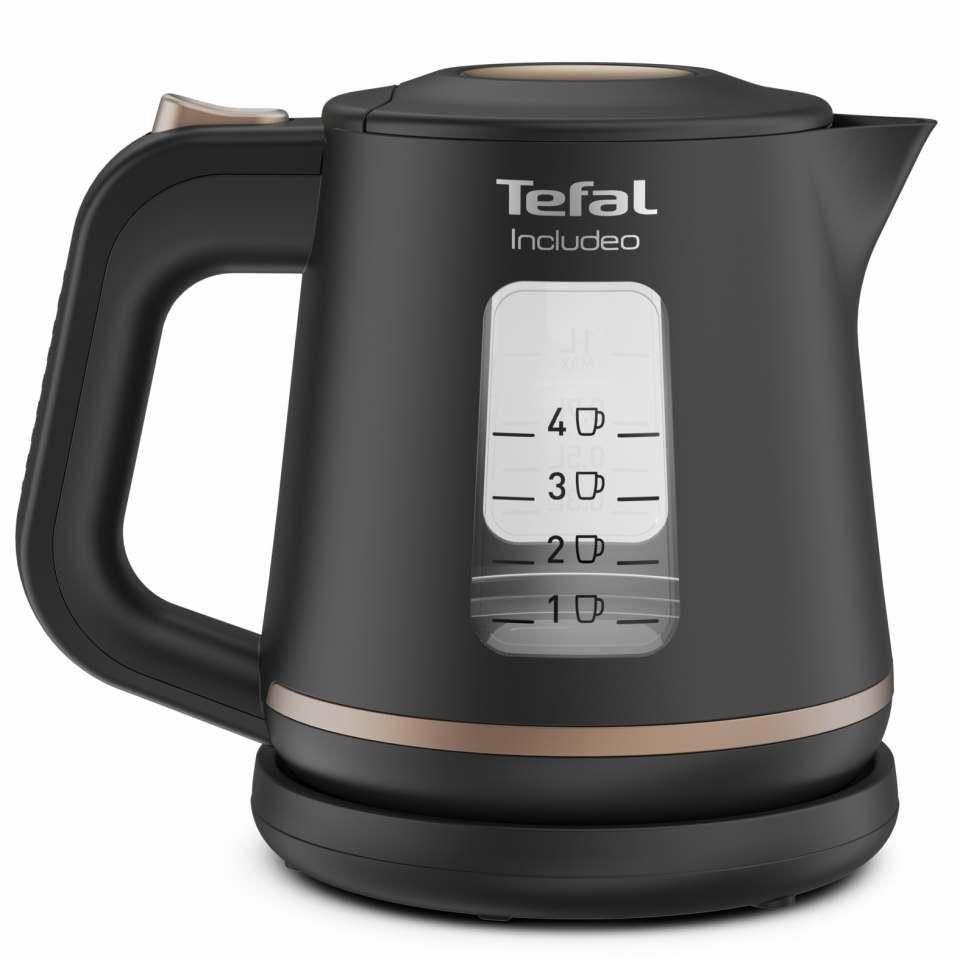 Tefal Wasserkocher Includeo mit One Push Button.