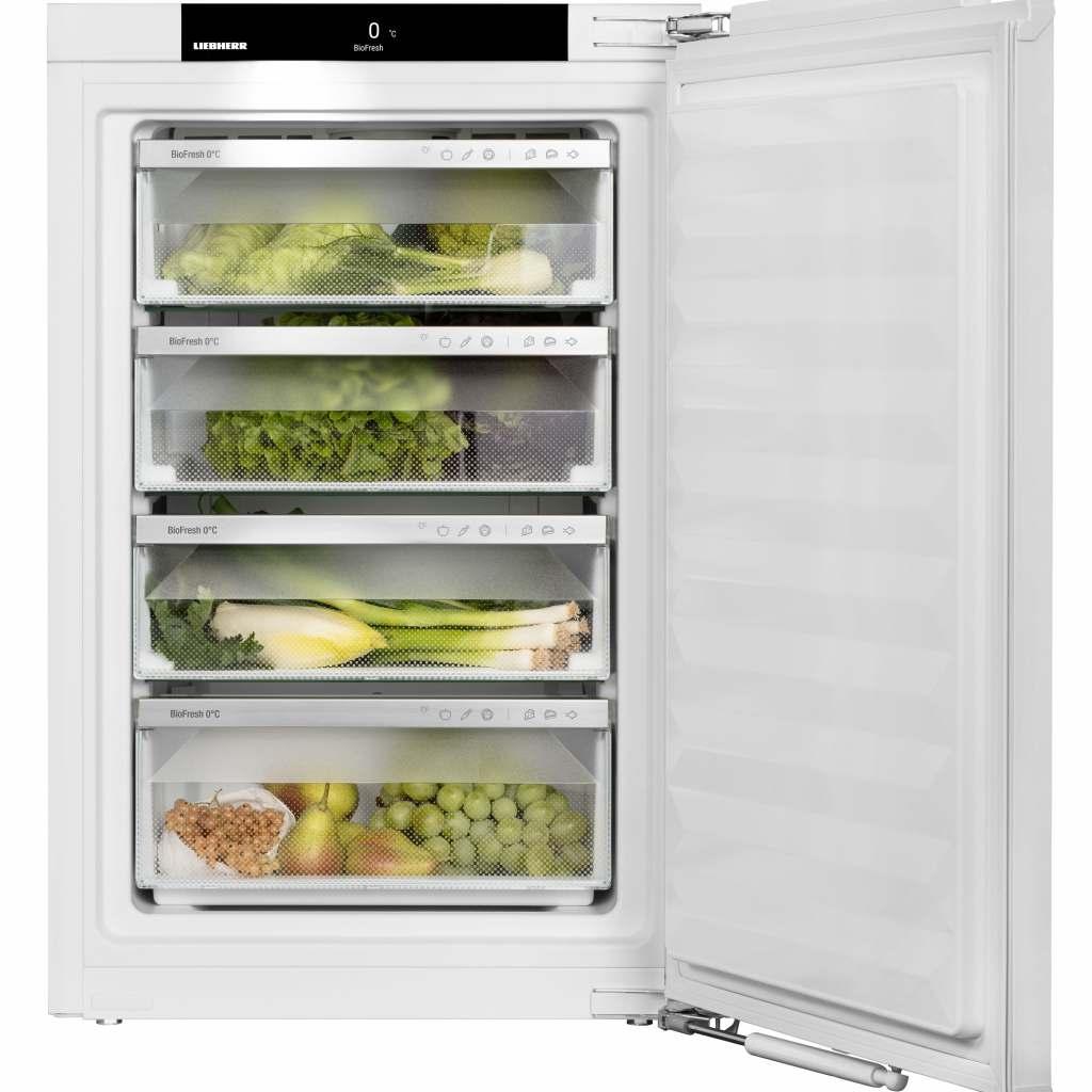 Neu ist auch ein Vollraum BioFresh-Kühlschrank, dessen kompletter Innenbereich mit der von Liebherr patentierten BioFresh-Technologie ausgestattet ist.