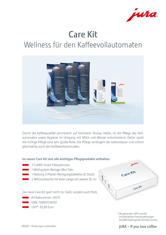 Jura Care Kit Produktblatt