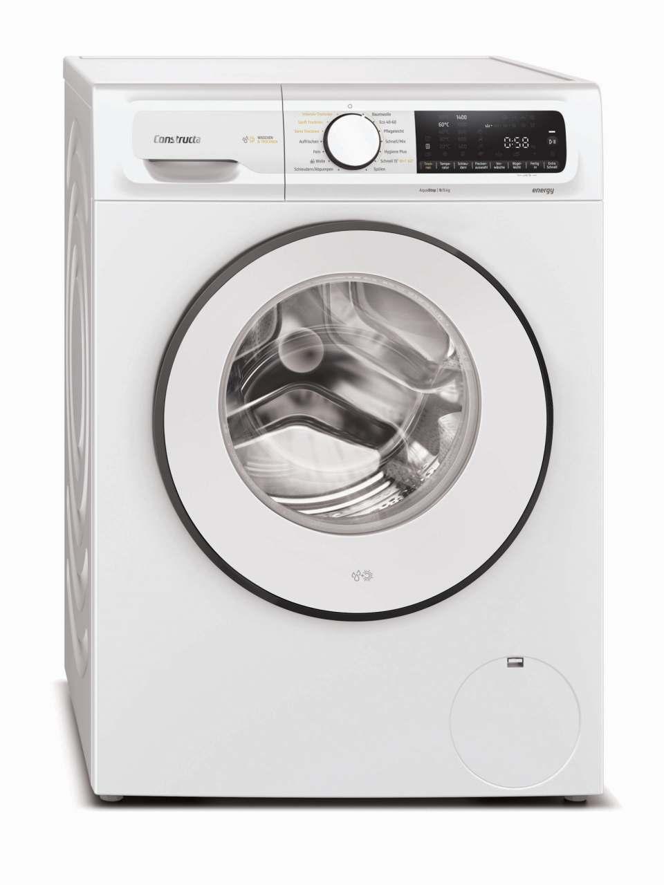 Constructa Waschmaschine CWF14G110 mit Nachlege-Funktion.