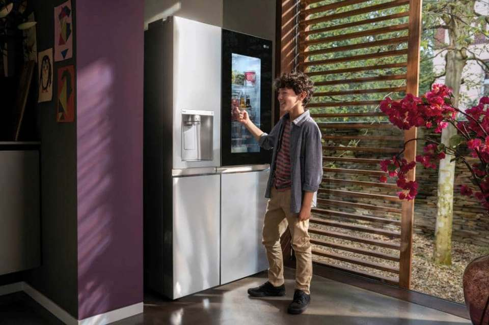TV-Kampagne mit Cashback für LG Kühlschränke.