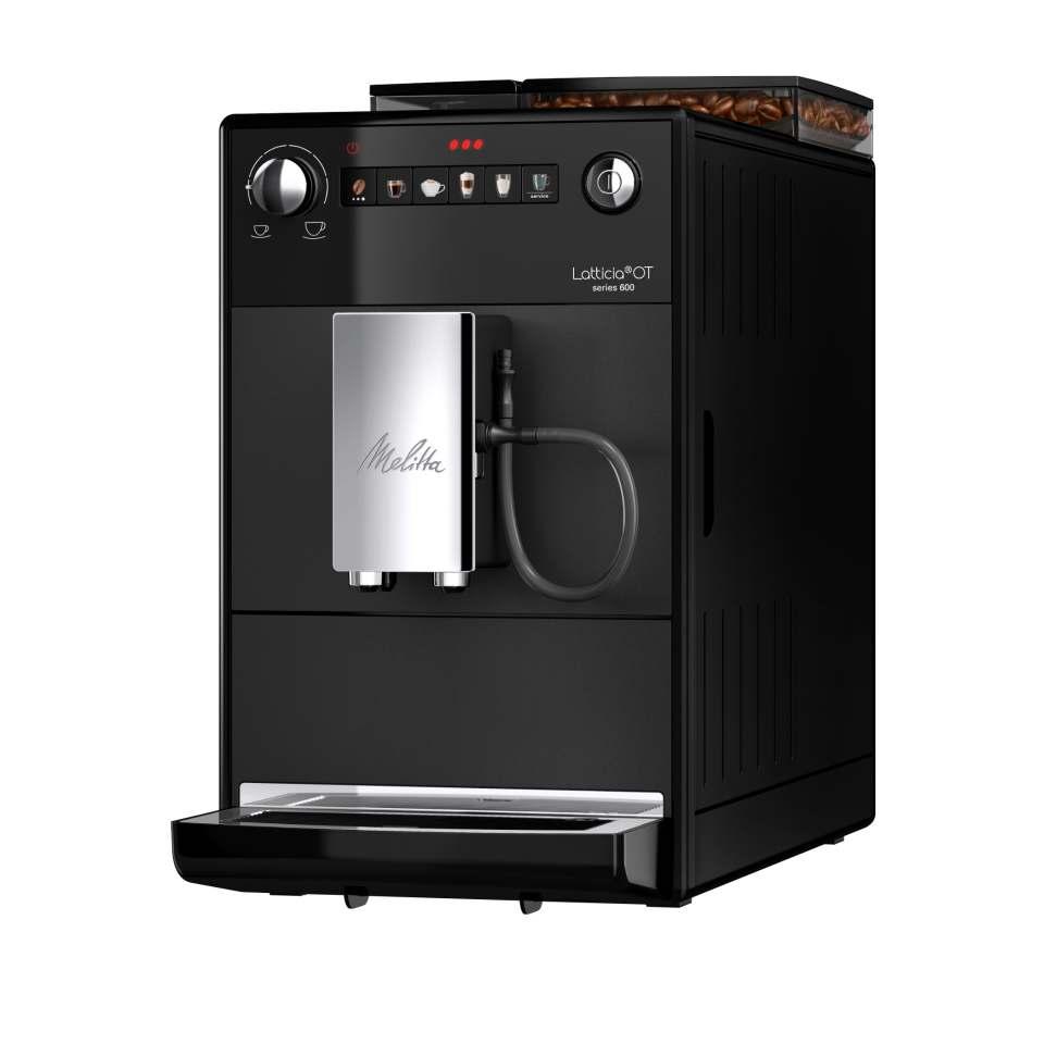 Melitta Kaffeevollautomat Latticia OT mit Italian Preparation Process.