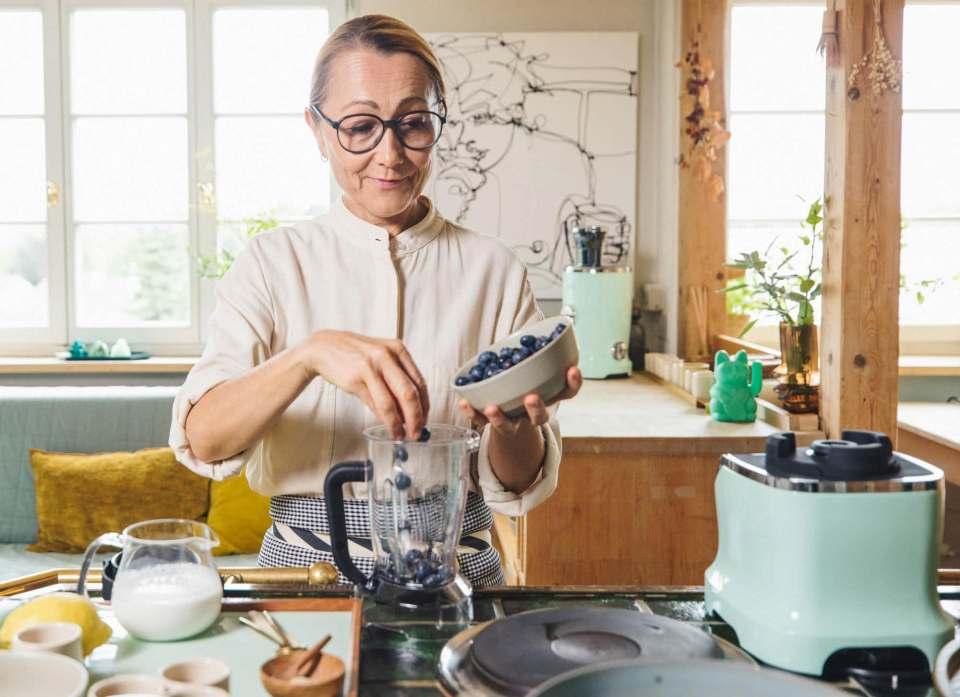Novis-Markenbotschafterin: Tanja Grandits, beste Köchin der Schweiz.