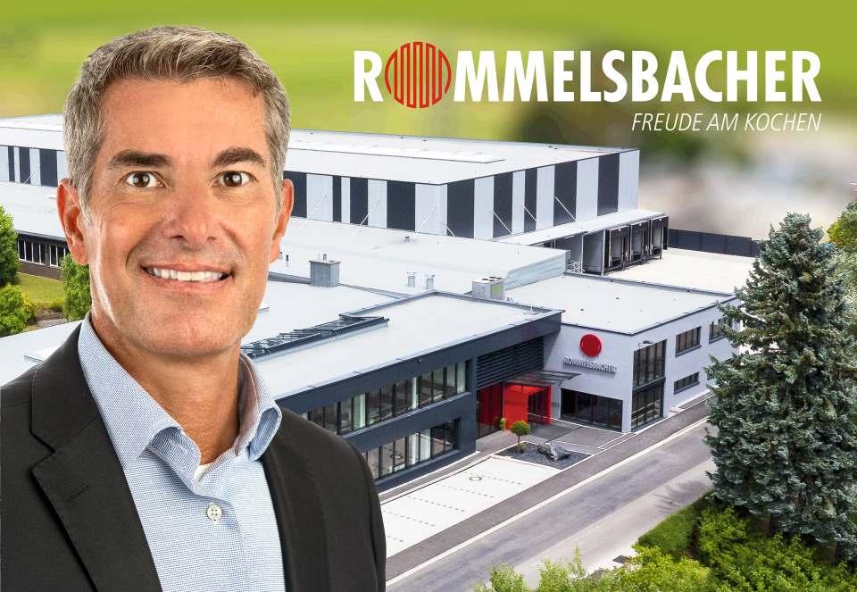 Nach über 90 Jahren ist Markus Scherer der erste externe Geschäftsführer bei Rommelsbacher.