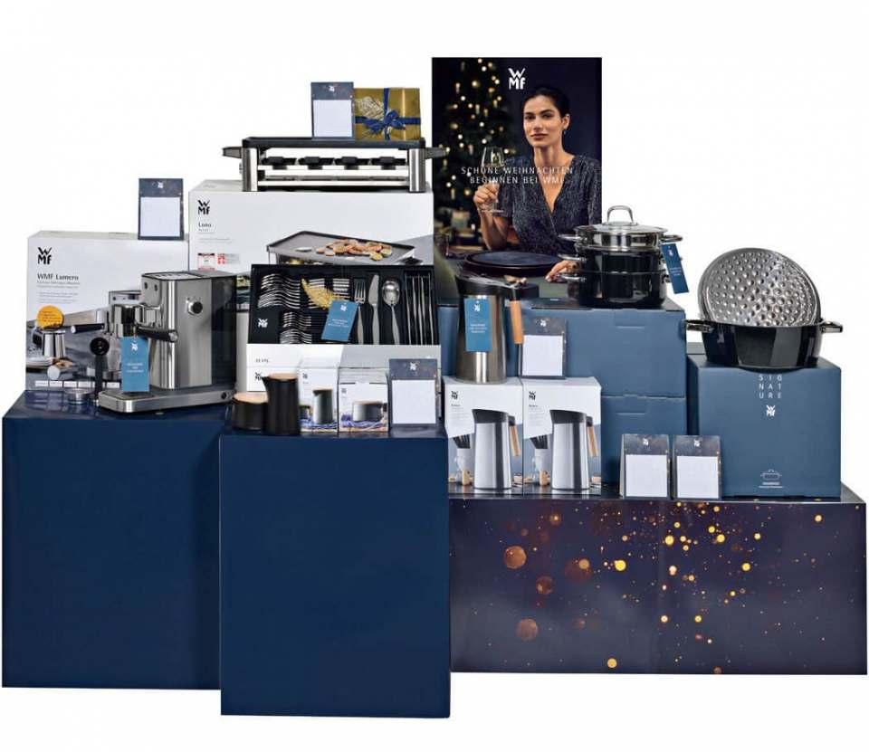 Geschenkideen und Premium PoS-Toolbox von WMF.