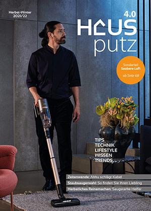 Hausputz 4.0 Ausgabe 2021 titelseite