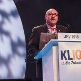 """Franz Schnur, Geschäftsführer der telering Kooperation auf der Jahreshauptversammlung: """"Mit Kliq.de sind wir digital für die Zukunft gut aufgestellt und bleiben trotzdem konsequent unserer Linie treu, die da lautet: """"IQ-Commerce statt E-Commerce."""""""