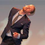 Mit seinen Akrobatik-Künsten versetze Jongleur Timo Wopp die Mitglieder von telering in höchstes Erstaunen und machte zugleich die Herzen frei für die ernstere Kost auf der nachfolgenden Jahreshauptversammlung.