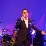 Thomas Anders in voller Aktion.